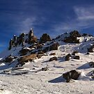 Rocks on the Snow by Yincinerate