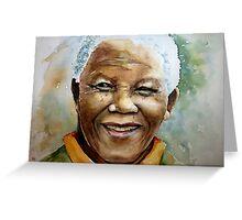 Nelson Rholihlahla Mandela Greeting Card