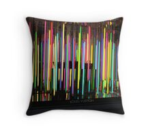 Louis Vuitton in 5th Avenue Throw Pillow
