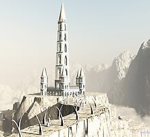 White Wizards Tower by Shaun Williams