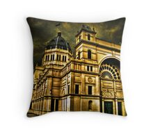 The Royal Exibition Building Throw Pillow