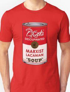 Zizek's Desoupinated Marxist Lacanian Soup T-Shirt