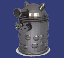 metal dalek by YodaWars