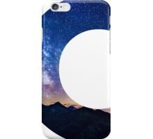 The Letter C - night sky iPhone Case/Skin