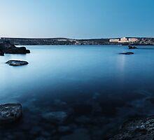 Silk Blue Waters by Kristian D'Amato