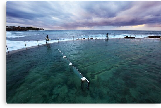 Bronte Beach Baths, Sydney, Australia by Michael Boniwell