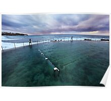 Bronte Beach Baths, Sydney, Australia Poster