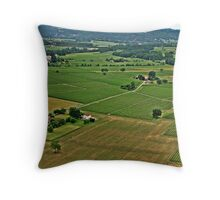 """ This Valley is full of History"" Throw Pillow"