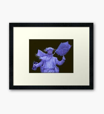 Mr Mime, York, UK Framed Print