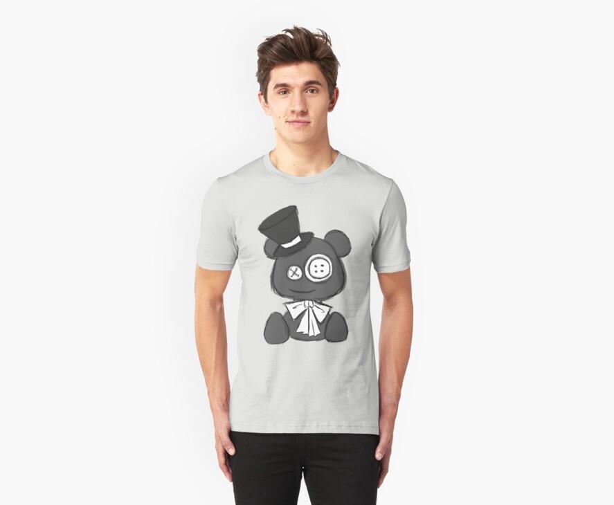 Gentleman Teddy Bear by Yincinerate