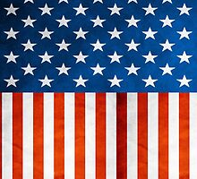 USA FLag up by ratherkool