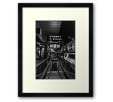 Welcome to Campbell Arcade.. Framed Print