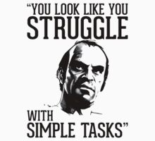 GTA V Trevor Simple Tasks T-Shirt