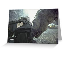 Jurassic Park - It's Better With Batman Greeting Card