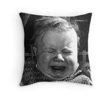 Baby Sneeze Throw Pillow