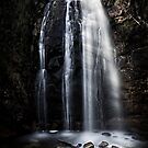 Waterfall Gully, Second Falls. by SD Smart