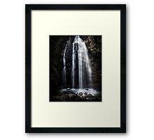 Waterfall Gully, Second Falls. Framed Print