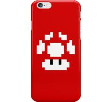 1UP Red - Super Mario Bros  iPhone Case/Skin