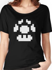 1UP Black - Super Mario Bros Women's Relaxed Fit T-Shirt