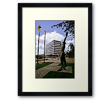 Journal Square Framed Print
