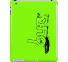 """""""don't BUG me."""" (w/out frame) - The """"PLAYFUL TYPE"""" Collection iPad Case/Skin"""