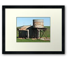 Pioneer Days Framed Print