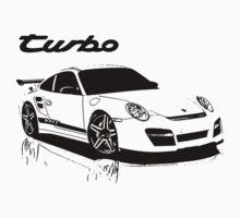 turbo - porsche 911 Baby Tee