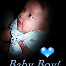 Welcome Baby Boy by Greeting Cards by Tracy DeVore