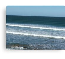 Let's Grab The Surfboard Canvas Print