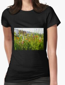 A Pretty Screen............Sidmouth, Devon UK Womens Fitted T-Shirt