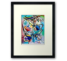 Intimate Glimpses, Journey of Life Framed Print