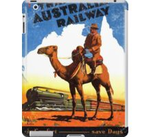 Travel Australia Vintage iPad Case/Skin