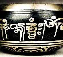 Singing Bowl in Black by Chinua Ford