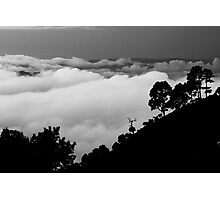 Clouds over Valley Photographic Print