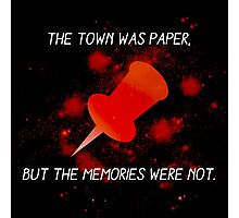 Paper Towns John Green Photographic Print