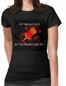 Paper Towns John Green Womens Fitted T-Shirt