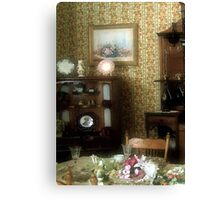 Lunch at the Chateau Canvas Print