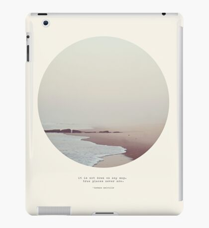 Maps - Circle Print iPad Case/Skin
