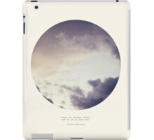 Another World - Circle Print iPad Case/Skin