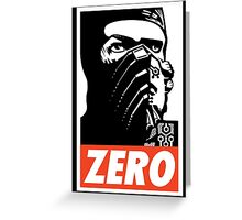 Sub Zero Has A Posse Greeting Card