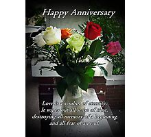 Happy Anniversary Photographic Print