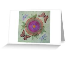 Summer Oasis Greeting Card