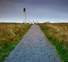 Barns Ness Lighthouse by Stuart Robertson Reynolds