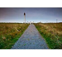 Barns Ness Lighthouse Photographic Print