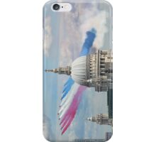 VE day 70 Years On - The Red Arrows Over London iPhone Case/Skin
