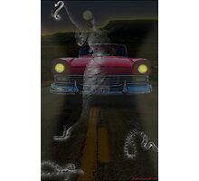 THE GHOSTS OF ROUTE 66 Photographic Print
