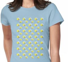 Bees - Pattern Womens Fitted T-Shirt