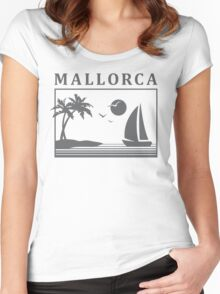 Mallorca Memories Women's Fitted Scoop T-Shirt