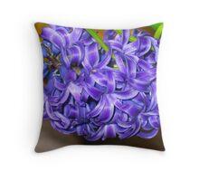 Purple Exposed Throw Pillow