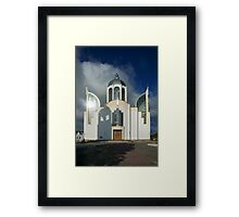 Church of St Peter and St Paul-Chortkiw, Ukraine Framed Print